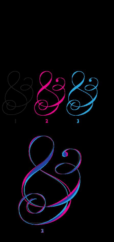 ampersand-sketch-process