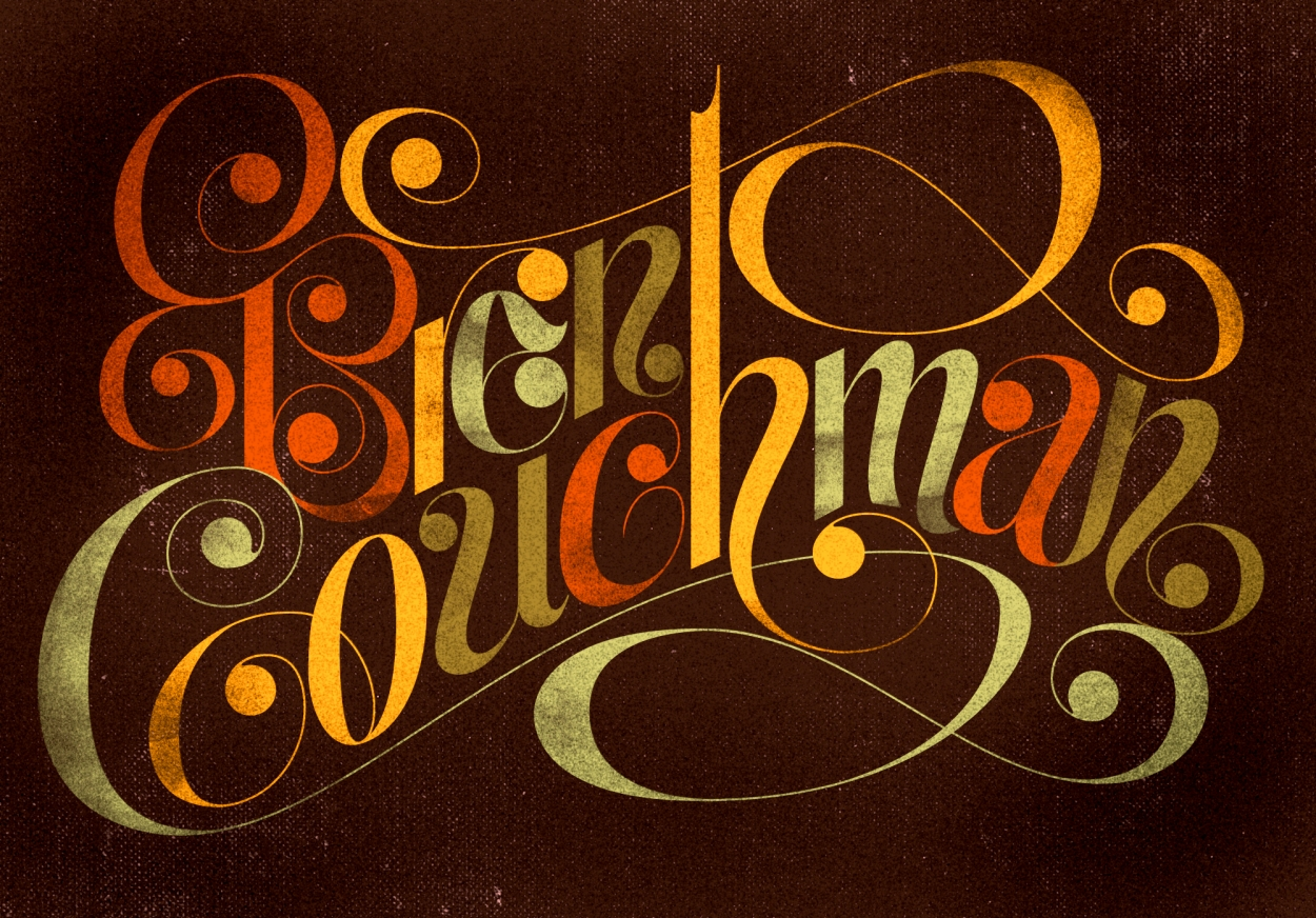 Friends of Type - Introduction post for Brent Couchman