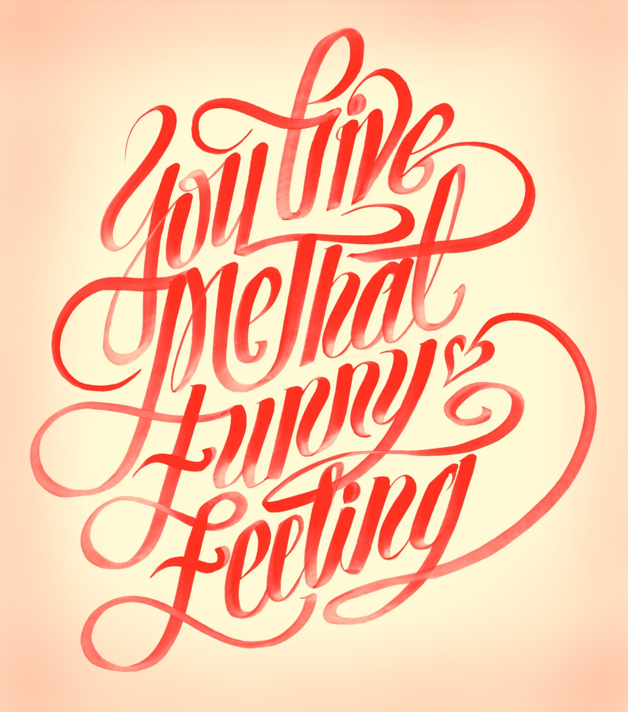Erik Marinovich - Friends of Type - You Give Me That Funny Feeling