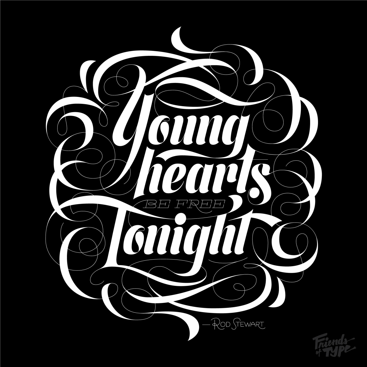 Erik Marinovich - Friends of Type - Young Hearts Be Free Tonight