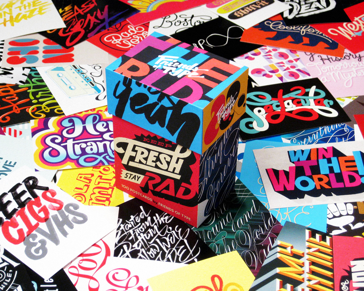 Keep Fresh – Friends of Type x PAPress