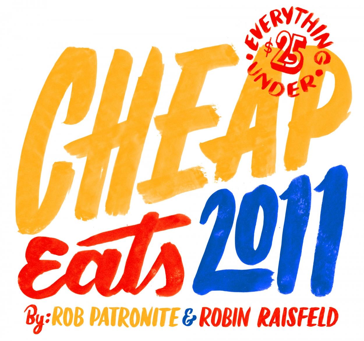 Cheap Eats 2011 - New York Magazine- Friends of Type